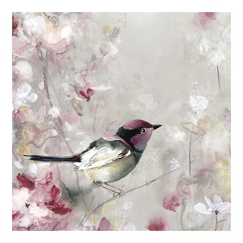 New View Gifts Bird In View Canvas Wall Art