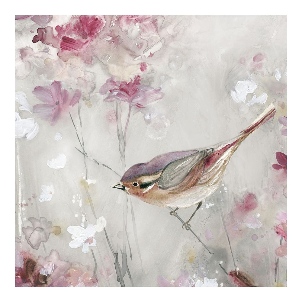 New View Gifts Bird In View II Canvas Wall Art