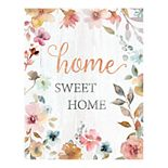 New View Gifts Home Sweet Home Canvas Wall Art
