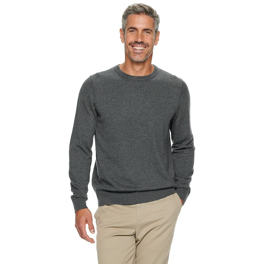 Men's Croft & Barrow® Easy Care Crewneck Sweater