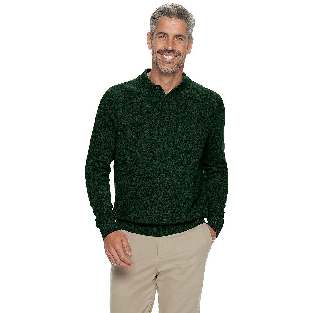 Men's Croft & Barrow® Easy Care Sweater Polo