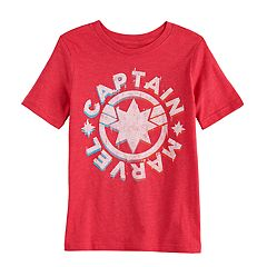 9cc588beb82c Boys 4-12 Jumping Beans® Captain Marvel Graphic Tee