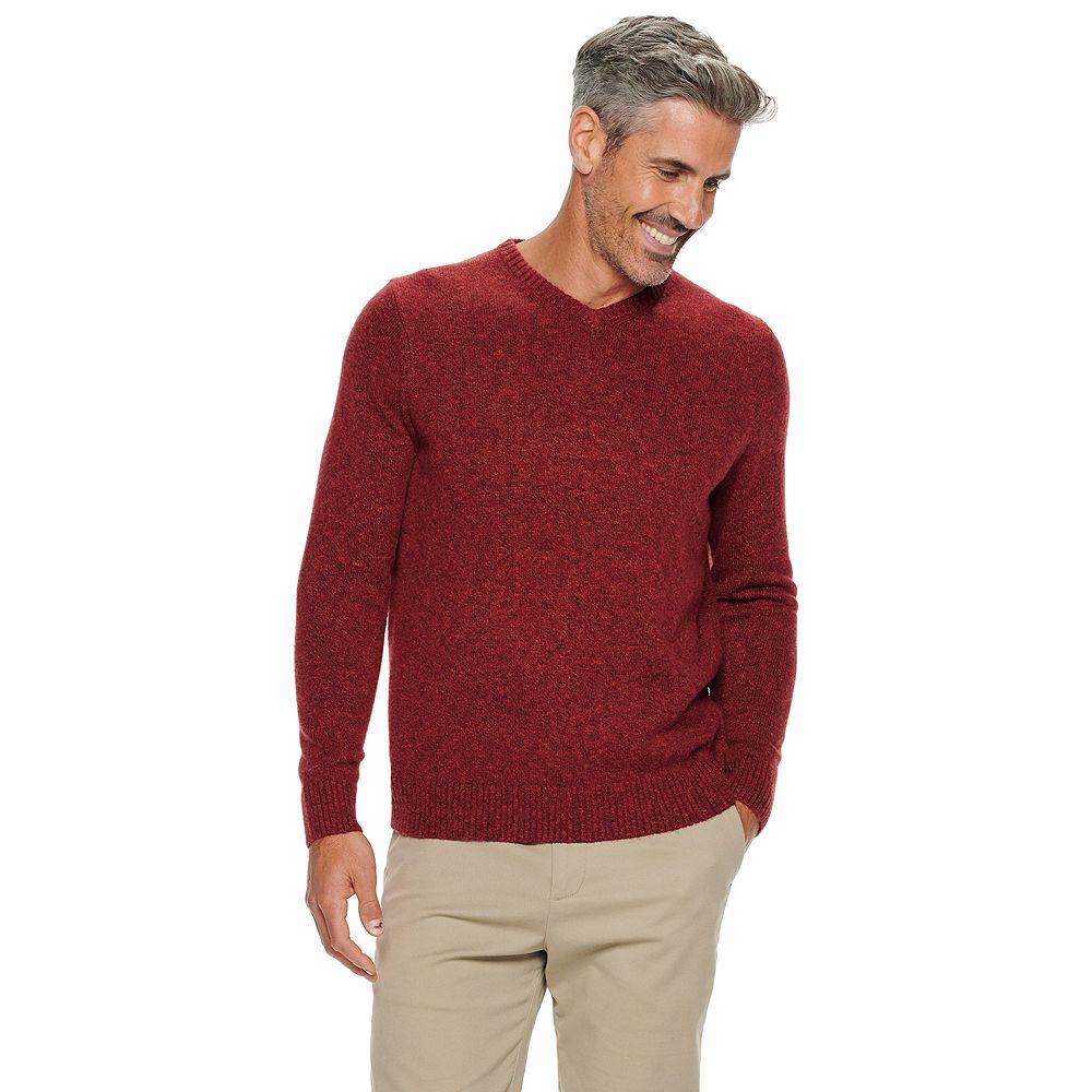 Men's Croft & Barrow® Extra Soft V-neck Sweater