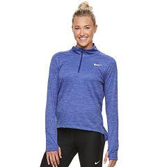 Women's Nike Pacer 1/2-Zip Thumb-Hole Running Top