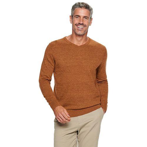 Men's Croft & Barrow® Easy Care V-neck Sweater