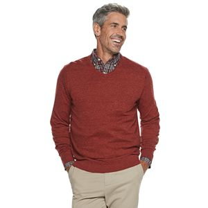Men's Croft & Barrow Easy Care V-neck Sweater