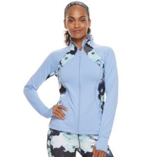 Women's FILA SPORT® Print Thumb Hole Zip-Up Jacket