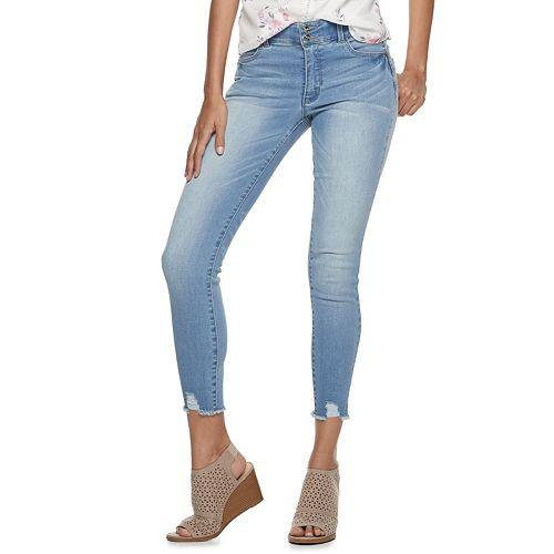 Juniors' Candie's® Ankle Sculpt Denim Jeans