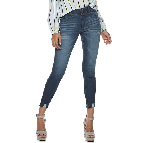 NEW! Juniors' Candie's® Ankle Sculpt Denim Jeans