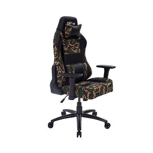 Techni Sport TS-60 Ergonomic High Back Racer Style Video Gaming Chair