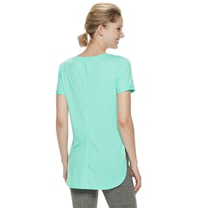 Women's Tek Gear Roll-Sleeve Tee