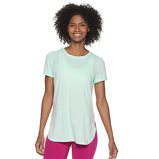 c57224d478e Green Tek Gear Regular Crewneck T-Shirts Active Short Sleeve   Kohl's