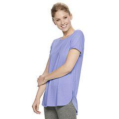 Women's Tek Gear® Roll-Sleeve Tee