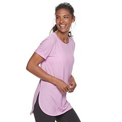 87ca63b31f0 Women's Tek Gear® Roll-Sleeve Tee