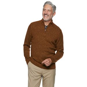 Men's Croft & Barrow Extra Soft 1/4 Zip Sweater