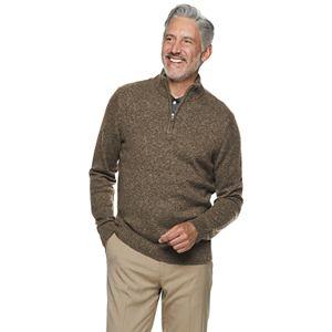 Men's Croft & Barrow Extra Soft 1/4 Zip Sweater