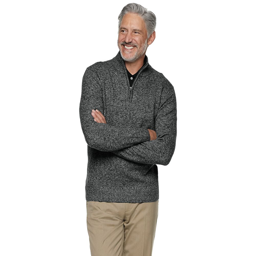 Men's Croft & Barrow® Extra Soft 1/4 Zip Sweater