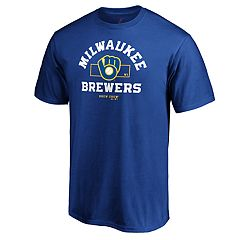 bb02bd72a Mens Milwaukee Brewers Primary Objective Tee