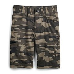 Boys 4-7x Lee Grafton Camouflaged Shorts