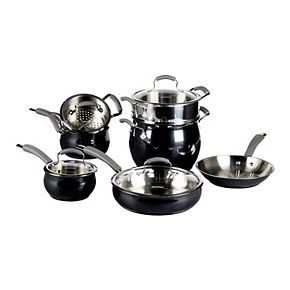 Epicurious 11-pc. Stainless Steel Cookware Set