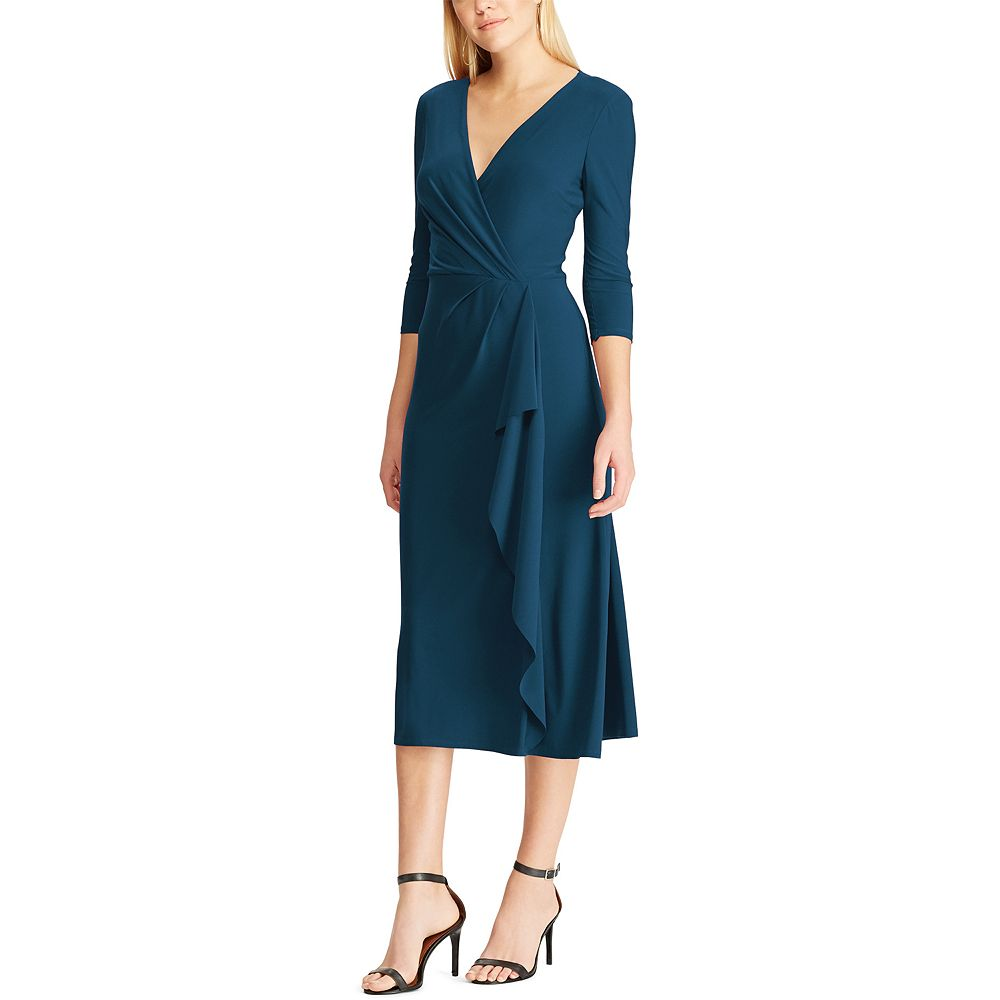 Women's Chaps Midi Fit and Flare Dress