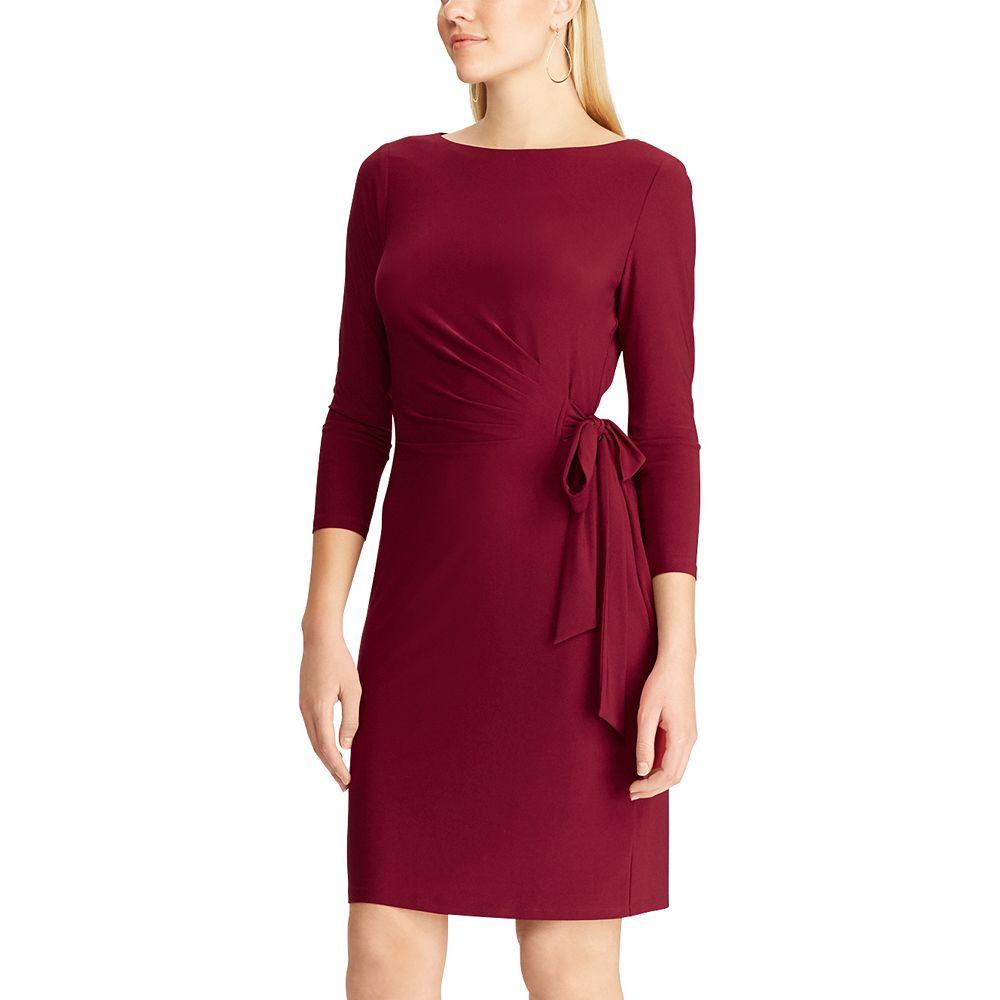Women's Chaps Side Draped Dress