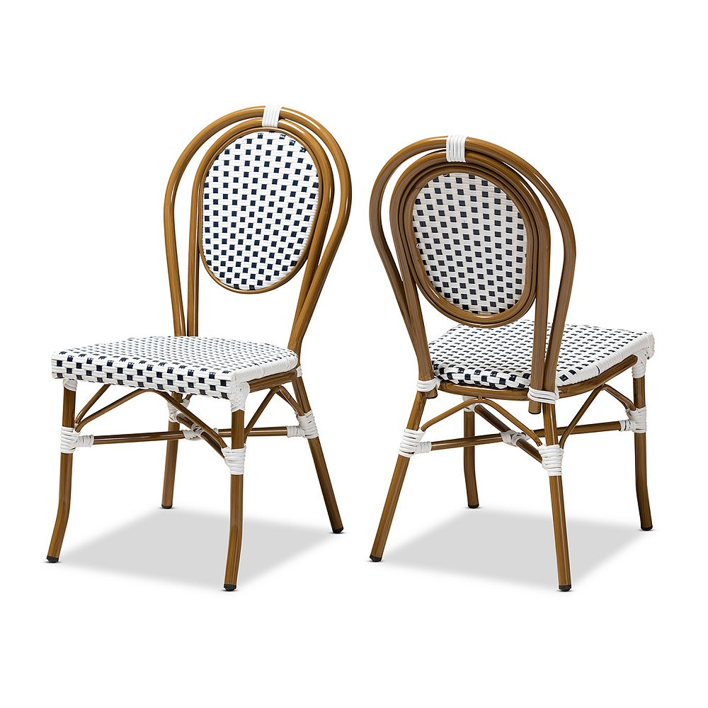 Baxton Studio Aeron Dining Chair 2-piece Set