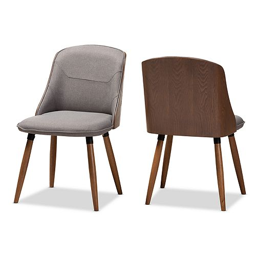 Baxton Studio Arsanio Dining Chair 2-piece Set