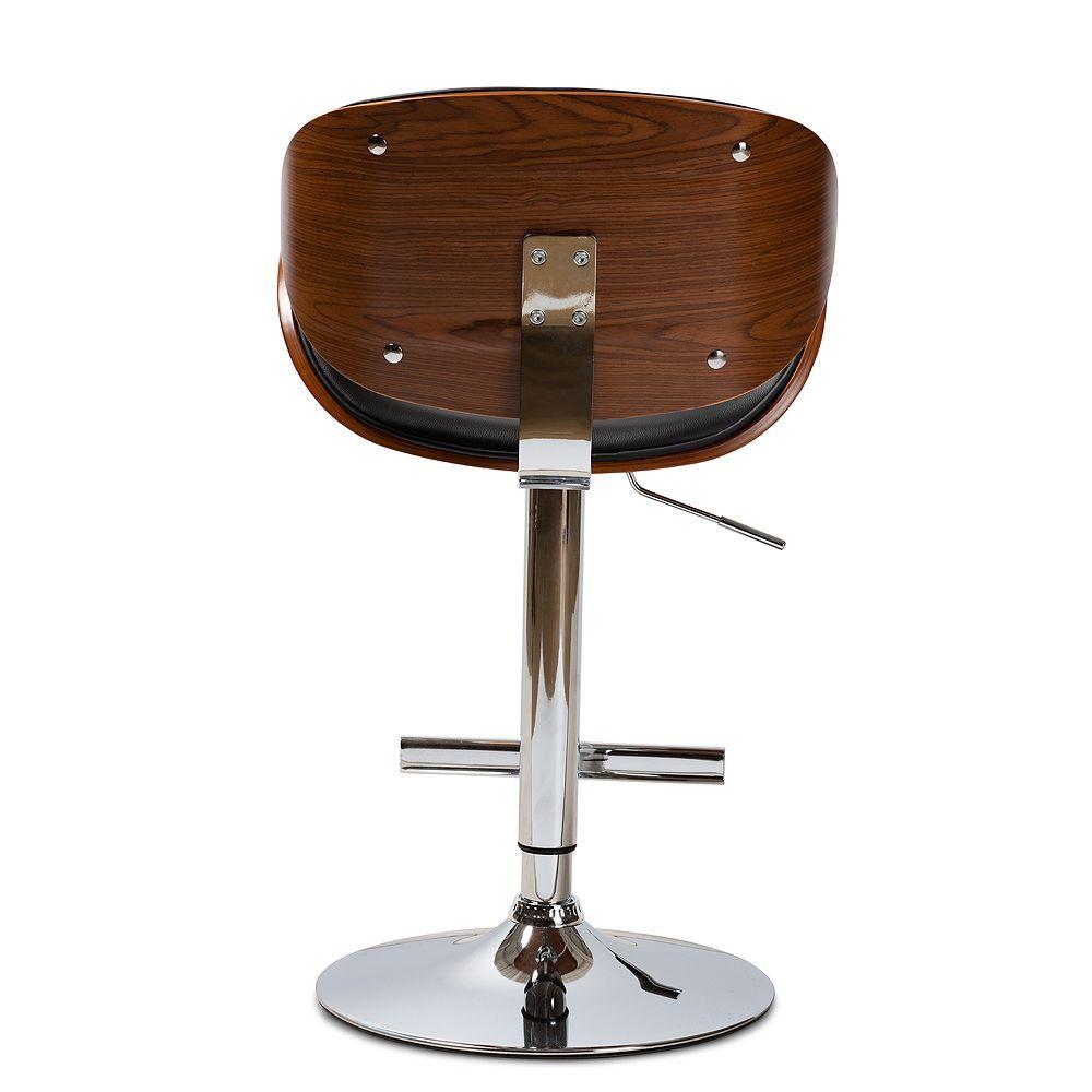 Baxton Studio Ambrosio Adjustable Bar Stool