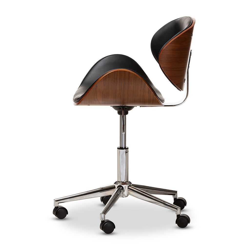 Baxton Studio Ambrosio Adjustable Office Chair