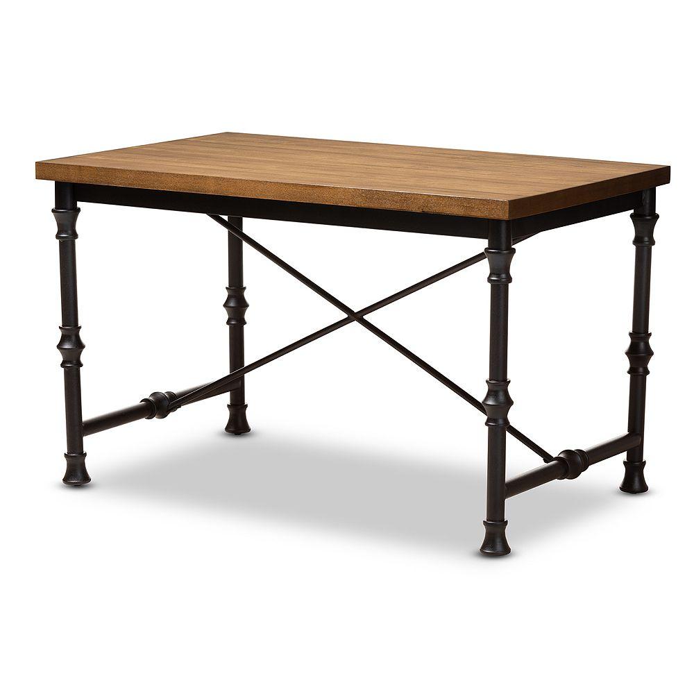 Baxton Studio Verdin Brown Desk