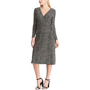 Women's Chaps Long Sleeve Midi Dress