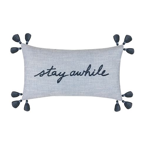 "Sonoma Goods For Life™ ""Stay Awhile"" Decorative Pillow by Sonoma Goods For Life"