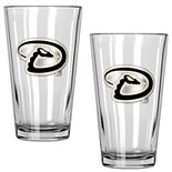 Arizona Diamondbacks 2-Piece Pint Glass Set