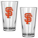 San Francisco Giants 2-Piece Pint Glass Set