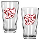 Washington Nationals 2-Piece Pint Glass Set