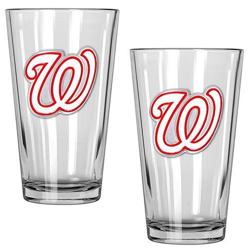 Washington Nationals 2-Piece Pint Glass Set
