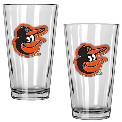 Baltimore Orioles 2-Piece Pint Glass Set