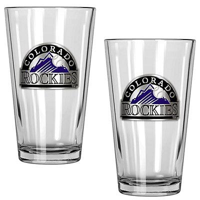 Colorado Rockies 2-Piece Pint Glass Set