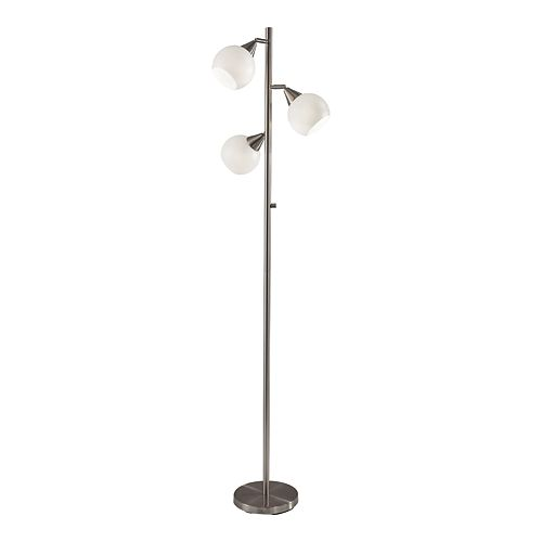 ADESSO Phillip 3-Light Floor Lamp