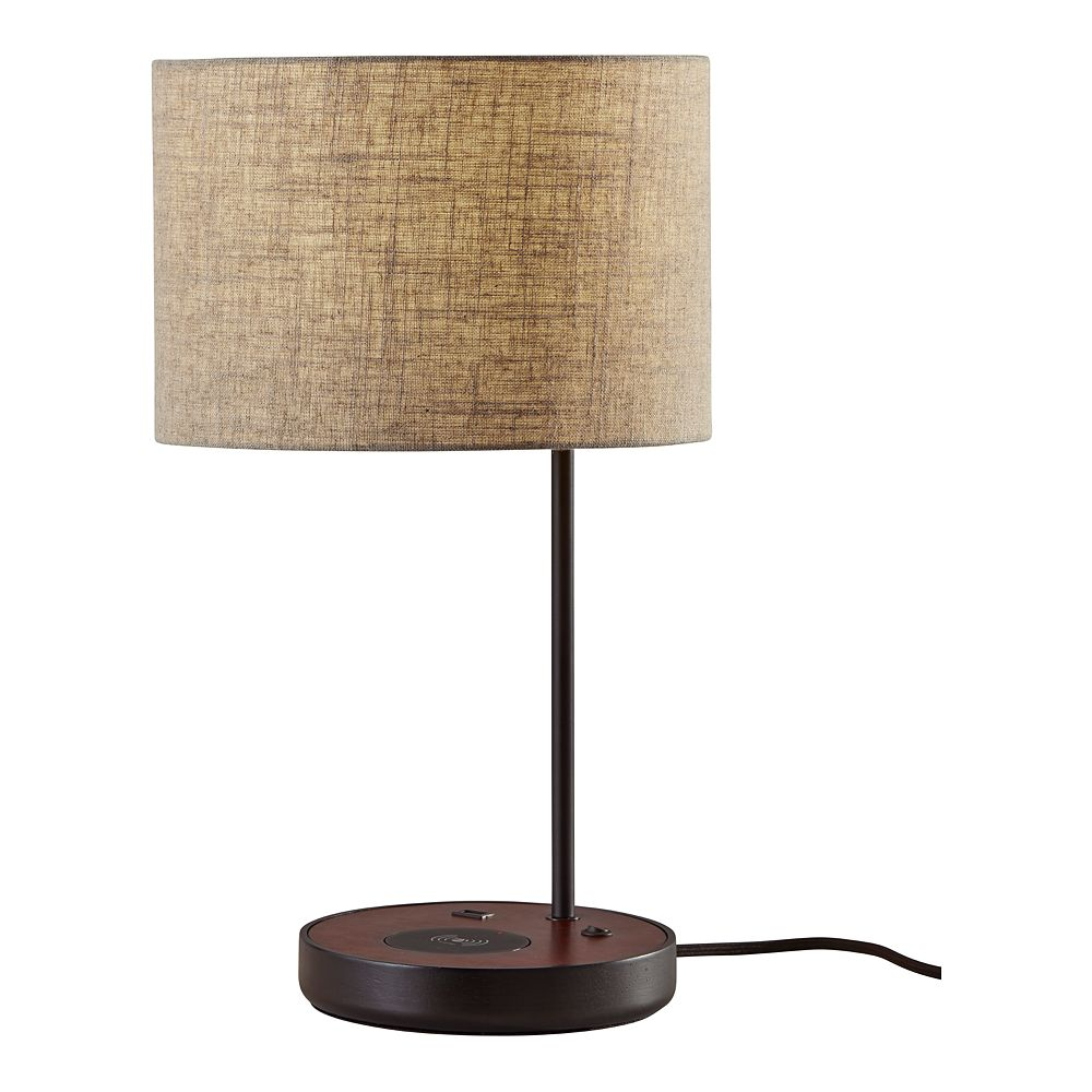 ADESSO Oliver Charging Pad Table Lamp