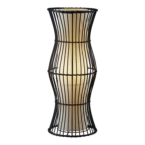 ADESSO Aloha Rattan Lantern Table Lamp