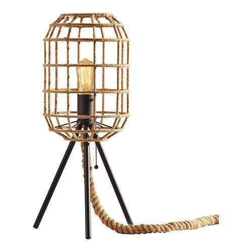 ADESSO Montauk Jute Table Lamp