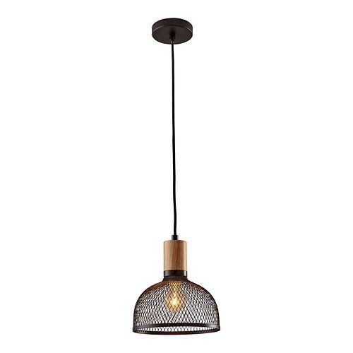 ADESSO Dale Rustic Industrial Small Pendant Light
