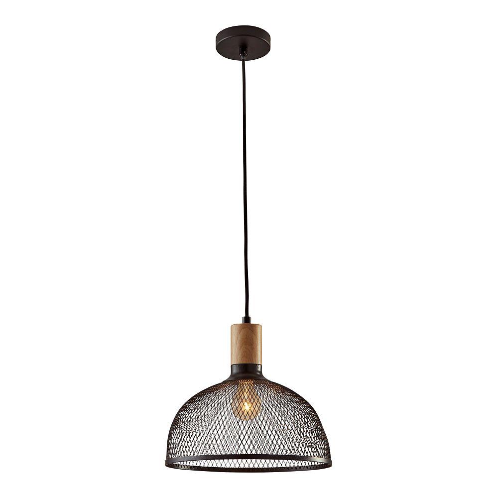 ADESSO Dale Rustic Industrial Large Pendant Light