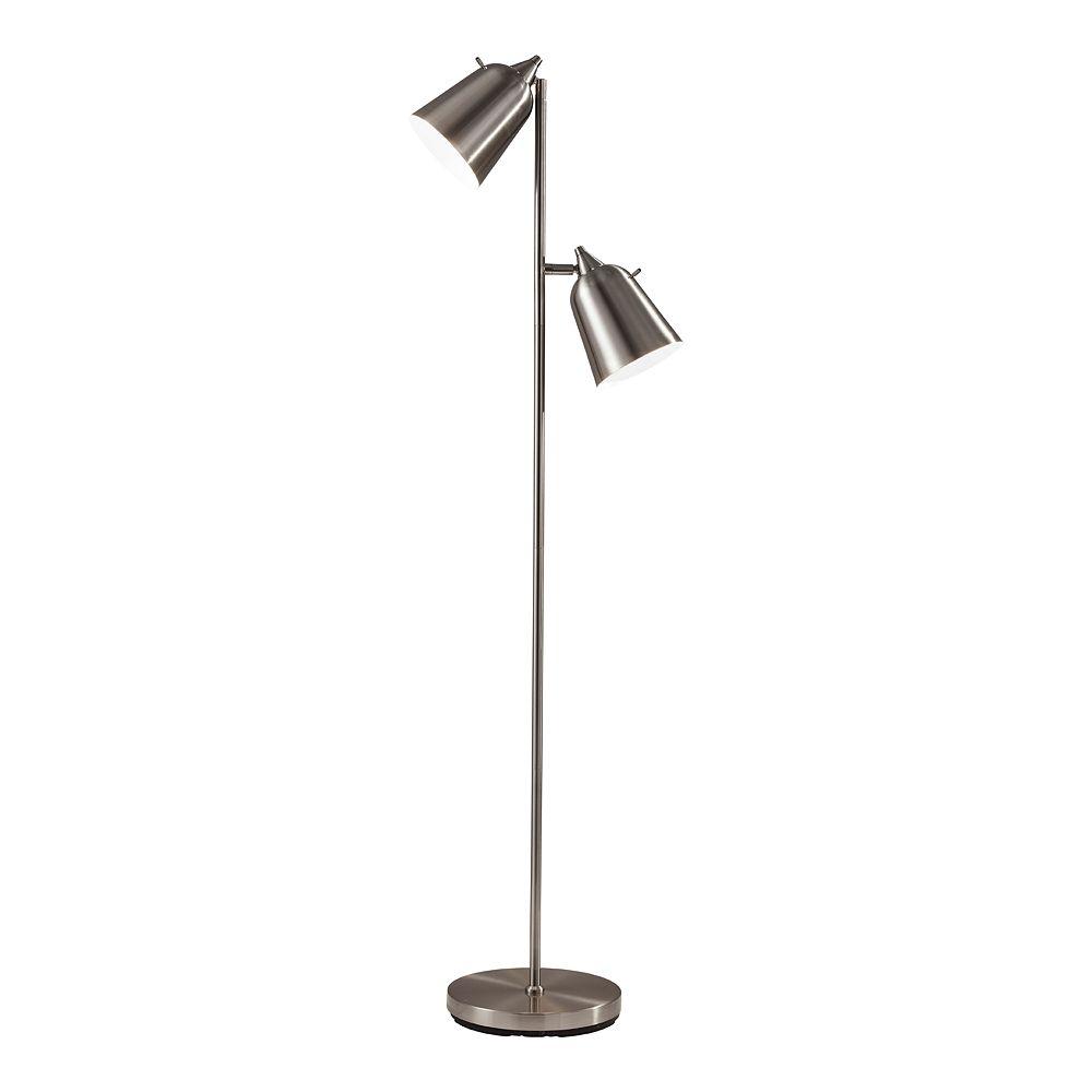 ADESSO Malcolm 2-Light Floor Lamp