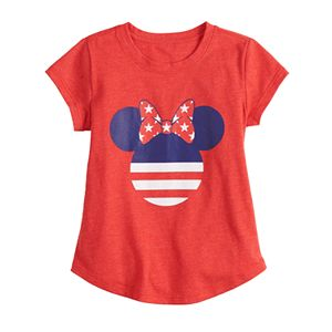 Disney's Minnie Mouse Toddler Girl Americana Graphic Tee by Family Fun?