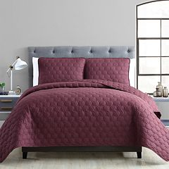 VCNY Maxwell 3 Piece King Quilt Set