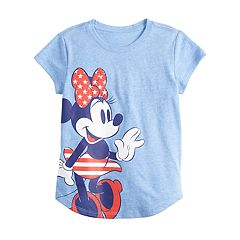 90b890d3f Disney's Minnie Mouse Toddler Girl Stars & Stripes Graphic Tee by Family Fun