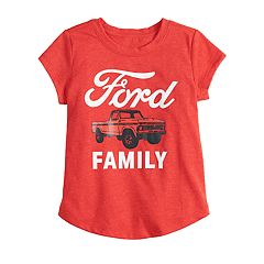 Toddler Girl Family Fun Ford Graphic Tee